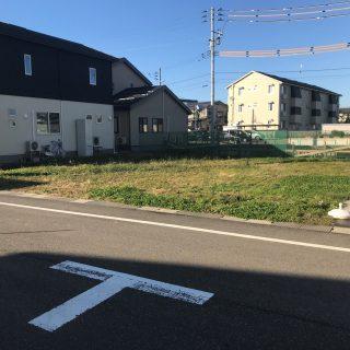 日越小学校区 長岡市喜多町分譲地残り1宅地 スーパーすぐ。