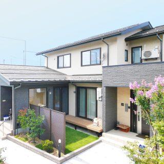 純和風×丸窓の柔らかな光ー2世帯住宅