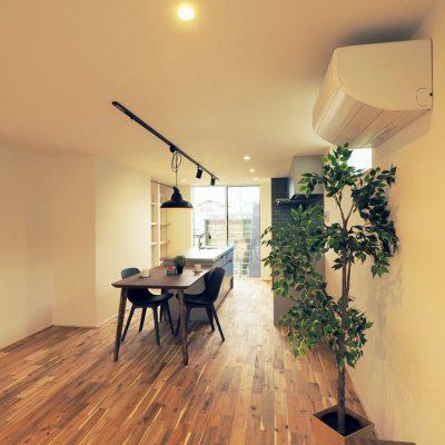 角地・変形地建築。デザイナーが考える住宅デザインのダイニング・キッチン