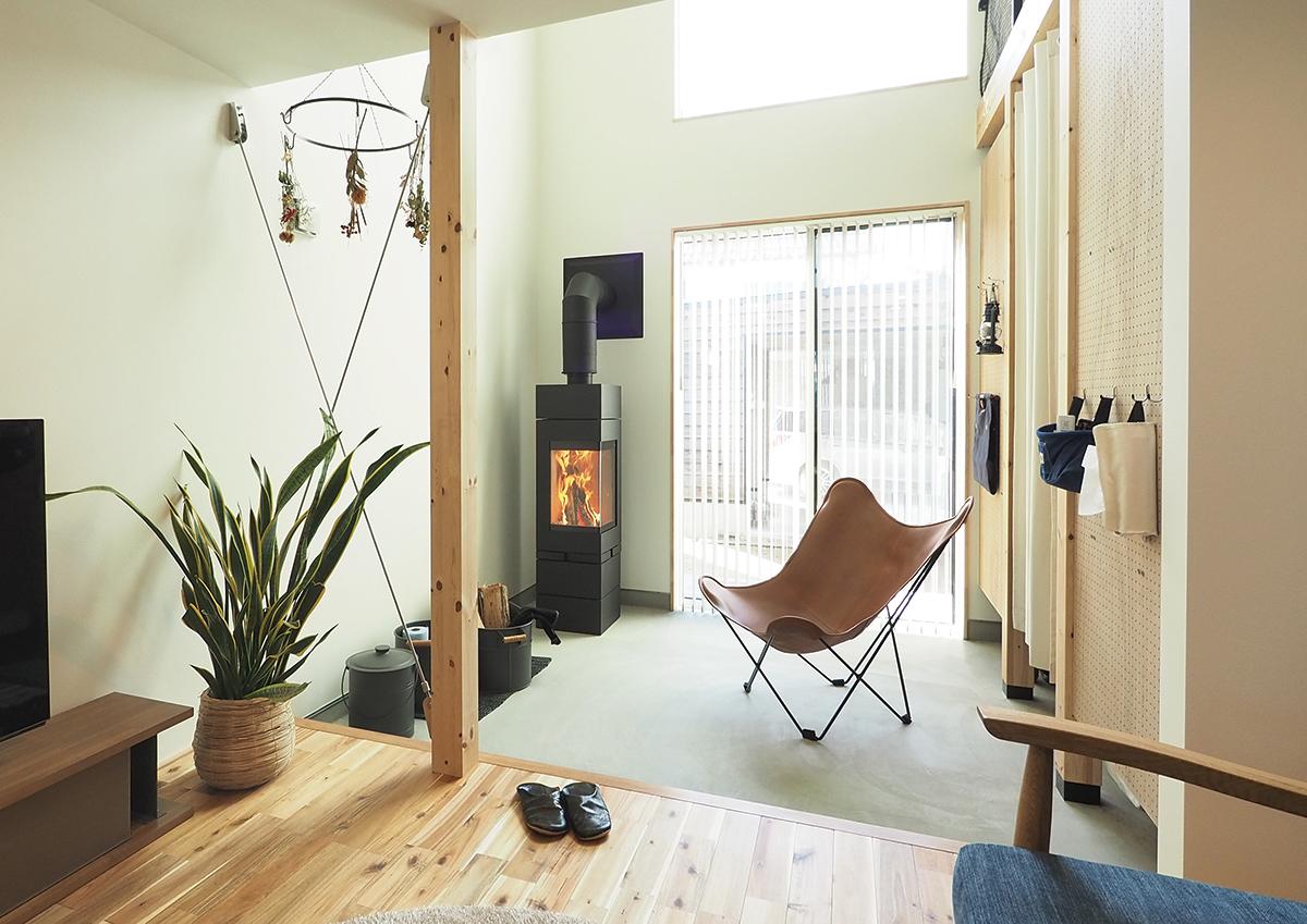 角地・変形地建築。デザイナーが考える住宅デザインの土間部分
