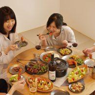 三条モデルハウス「うちたべ」家族で食べよう