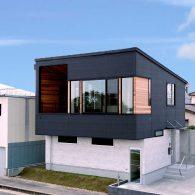 グリーンスタイル上沼デザイン住宅。外観写真