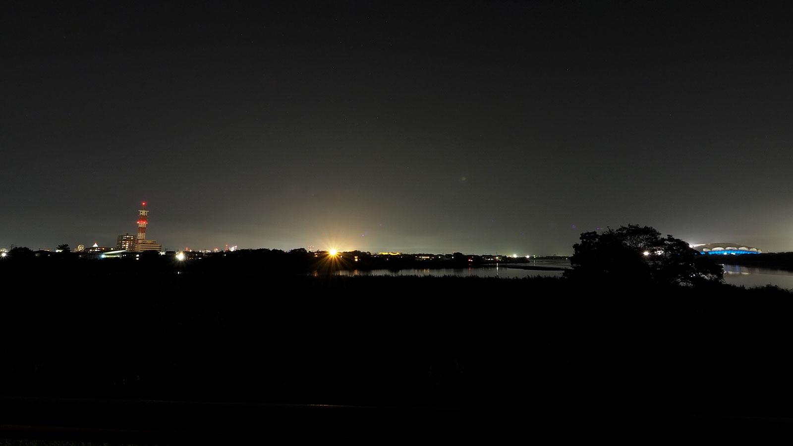 グリーンスタイル上沼デザイン住宅--夜景-夜間撮影