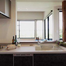 グリーンスタイル上沼デザイン住宅キッチン