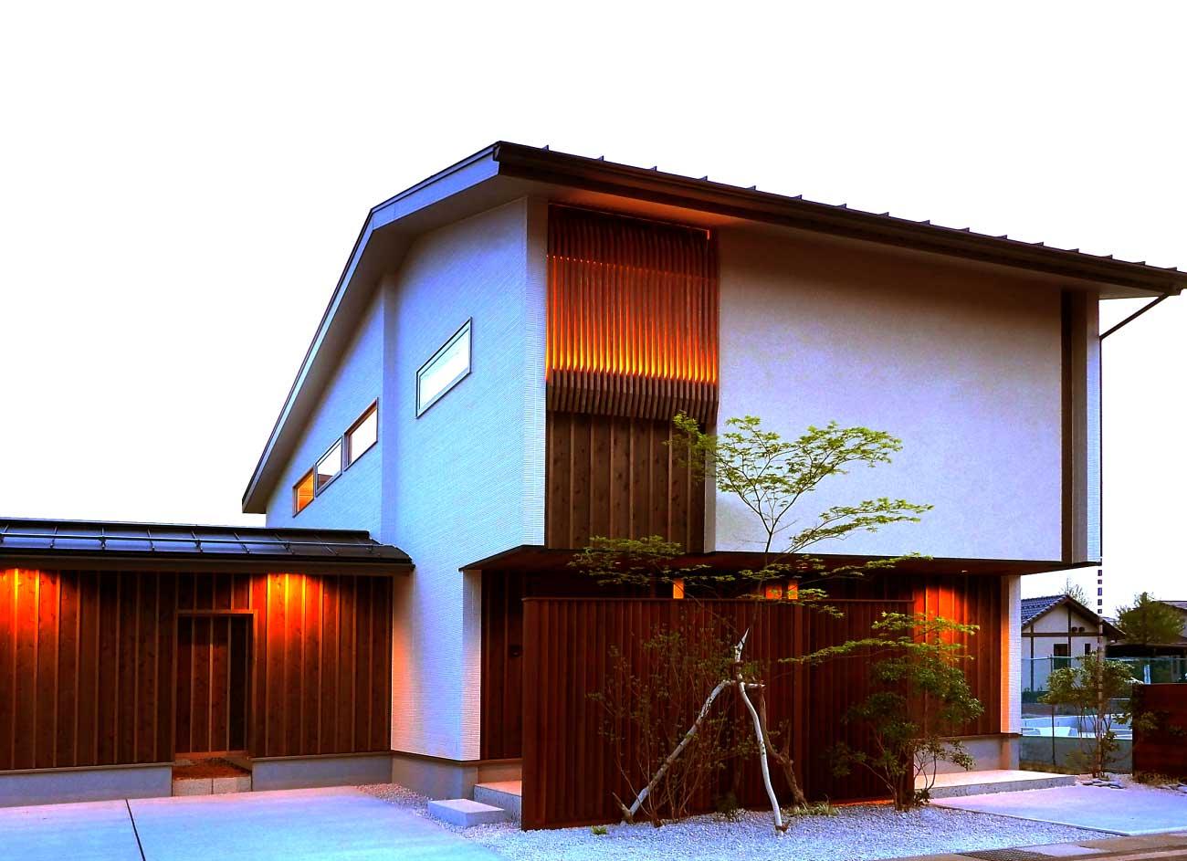 ケイミューデザインアワード2020関東部門受賞のお知らせ-長岡モデルハウス-ここが、家族の実家 正面写真