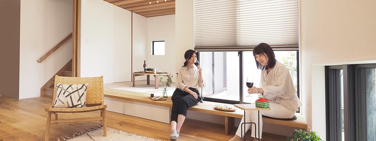 GreenStyle 長岡・三条・新潟モデルハウス 暖房体験会 2021/01/16-17/23-24 三条モデルハウスは温水ルームヒーターと仲間と暖かい