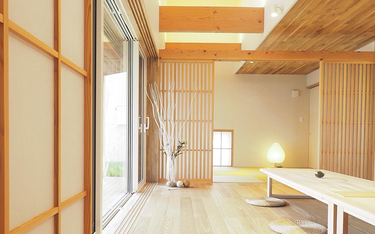 GreenStyle 長岡・三条・新潟モデルハウス 暖房体験会 2021/01/16-17/23-24 長岡モデルハウスは床暖房と家族の温かさ