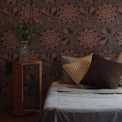 グリーンスタイル新潟モデルハウス「君と、夕暮れの家」主寝室
